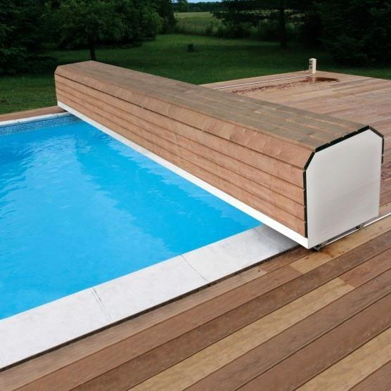 Volet roulant de couverture piscine